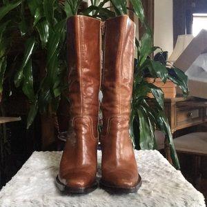 STEVE MADDEN cowboy boots size 8